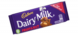 Cadbury fruit and nut tejcsokoládé
