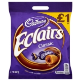 Cadbury Chocolate Eclair, 130g