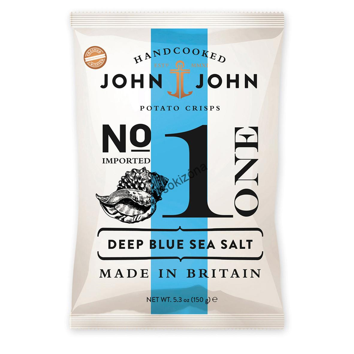 John&John Deep Blue Sea Salt