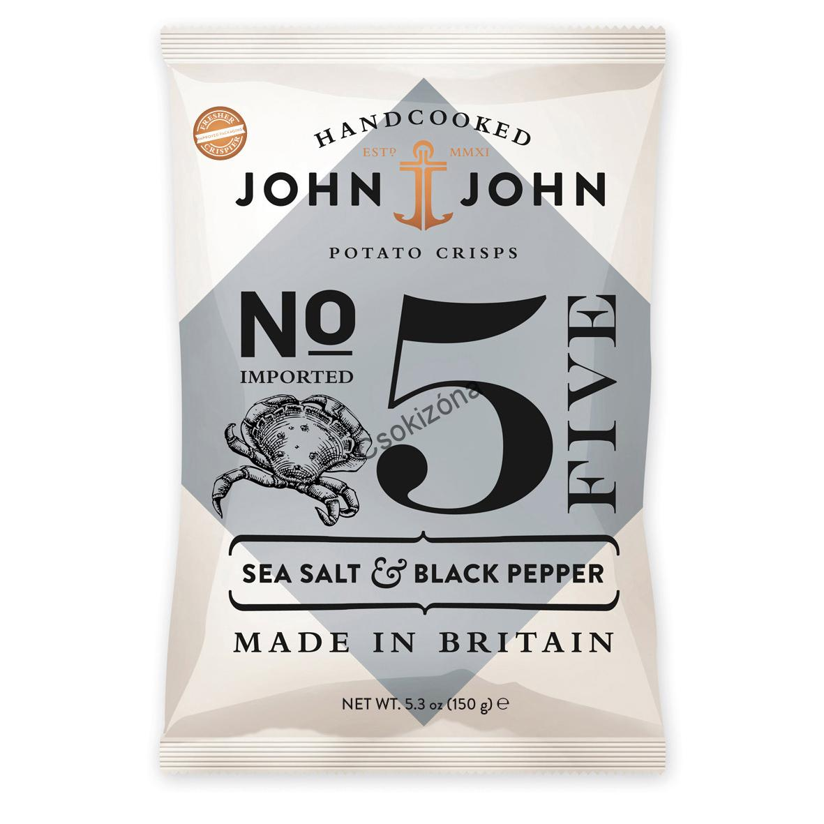 John&John Sea Salt & Black Pepper