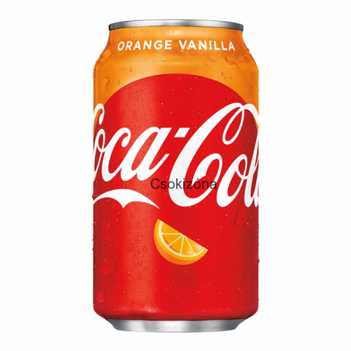 Coca Cola orange vanilla 355ml USA