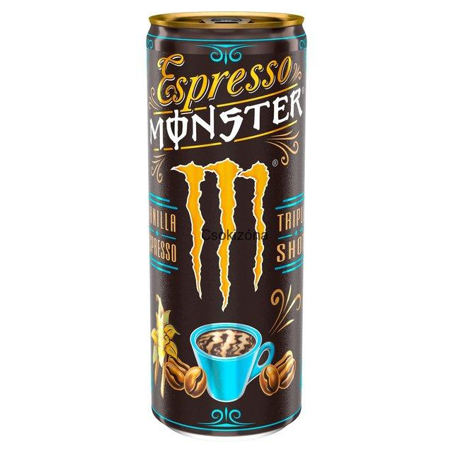 Monster Energy triple shot vanilla 250 ml