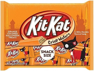 Kit Kat Halloween narancs snack 14,55g